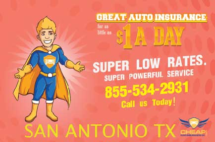 Cheap Car Insurance San Antonio Texas